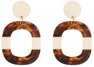 Seed Heritage Tort Splice Earrings