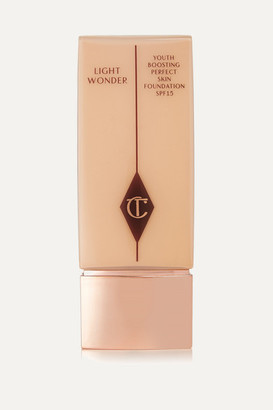 Charlotte Tilbury Light Wonder Youth-boosting Foundation Spf15 - 4.5 Fair, 40ml
