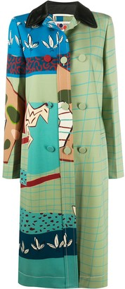 Ports 1961 Fitted Patterned Coat