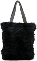 Laura B mini shopper bag