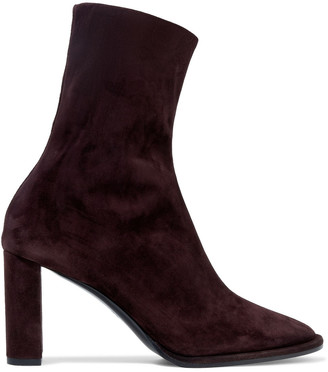 The Row Teatime Suede Ankle Boots