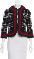 Gucci Pre-Fall 2016 Wool Plaid Jacket w/ Tags