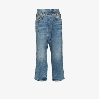 R 13 Staley crossover jeans