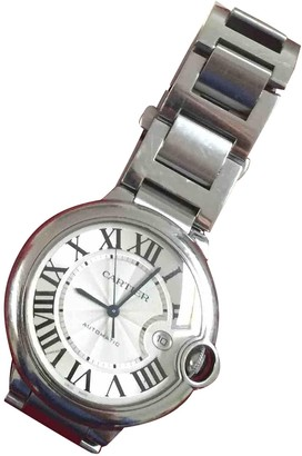 Cartier Ballon bleu Silver Steel Watches