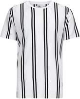 Topman Topman Black And White Stripe T-shirt