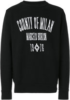 Marcelo Burlon County of Milan Jak crewneck sweatshirt - men - Cotton/Spandex/Elastane - XS