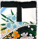 Fendi floral print scarf - women - Cotton/Silk - One Size