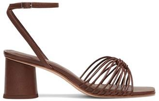 Loeffler Randall Portia Strappy Square-Toe Sandals