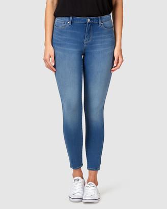 Jeanswest Freeform 360 Skinny 7/8 Jeans Sublime Blue