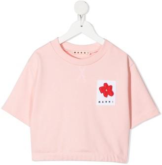 Marni logo patch T-shirt