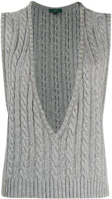 Jejia Maglia cable knit sweater vest