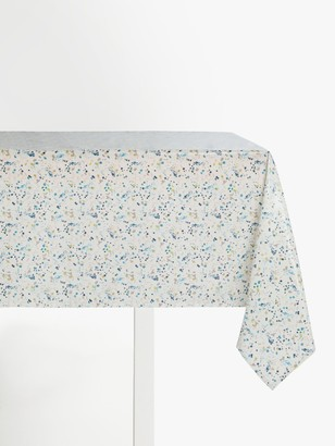 John Lewis & Partners Wipe Clean PVC Scattered Spot Print Tablecloth, Multi