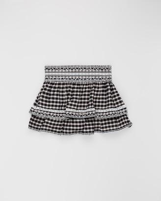 Scotch R'Belle Ruffle Mini Skirt - Teens