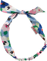 Cath Kidston Large Painted Pansies Fabric Bow Headband