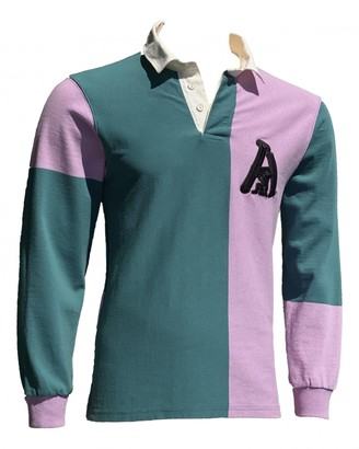 Aries Purple Cotton Polo shirts