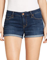 Jessica Simpson Cotton-Blend Faded Shorts