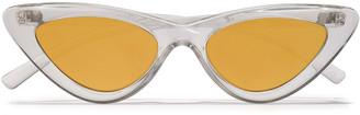 Adam Selman X Le Specs + Le Specs Cat-eye Acetate Sunglasses