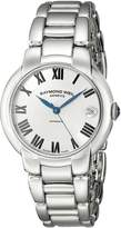 Raymond Weil Women's 2935-ST-01659 Jasmine Analog Display Swiss Automatic Watch