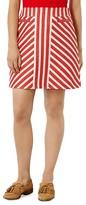 Karen Millen Striped Tweed Skirt