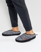 The North Face Tent Mule Iii Slipper In Phantom Grey Print