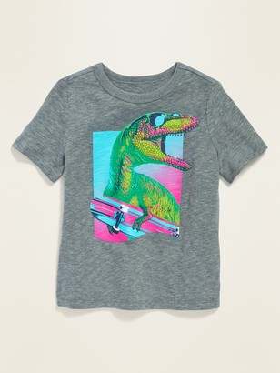 Old Navy Textured Dinosaur Graphic Tee for Toddler Boys