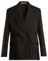 Summa - Oversized Double-breasted Jacket - Womens - Black