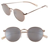 Raen Women's Benson 51Mm Sunglasses - Rose Gold/ Flesh