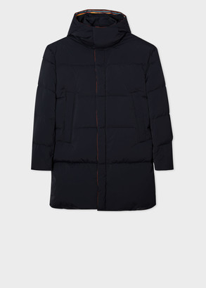 Paul Smith Men's Dark Navy Down Parka