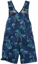Osh Kosh Baby Boy Palm Tree Shortalls