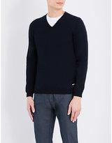 HUGO BOSS Slim-fit knitted jumper
