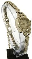 Hamilton Mechanical 14K White Gold & Diamond Ladies Wrist Watch