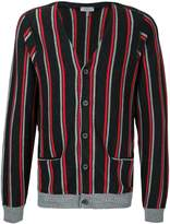 Lanvin V-neck striped cardigan