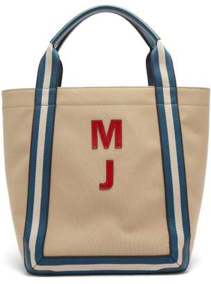 Anya Hindmarch Walton Customisable Canvas Tote Bag - Womens - Blue Multi