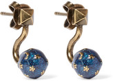 Valentino Cosmic Planet Gold-tone Earrings - one size