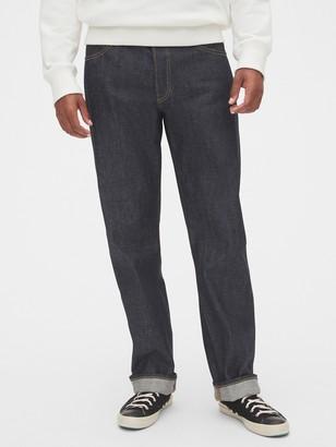 Gap Buckle-Back Selvedge Standard Fit Jeans