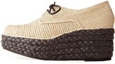 Carven Braided Wedge Oxford