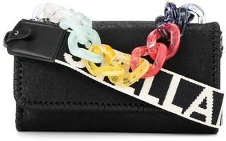Stella McCartney Falabella rainbow chain bag