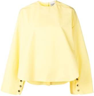 A.W.A.K.E. Mode oversized reverse blouse