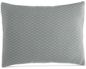 "Calvin Klein Pyrus Fishnet Overlay 12"" x 16"" Decorative Pillow Bedding"