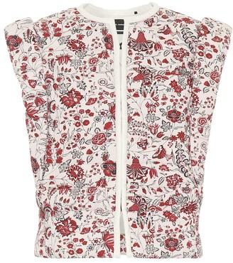 Isabel Marant Adiena floral cotton vest