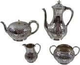 One Kings Lane Vintage English Tea & Coffee Set, C.1880