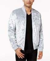 INC International Concepts Men's Spade Velvet Bomber Jacket, Created for Macy's