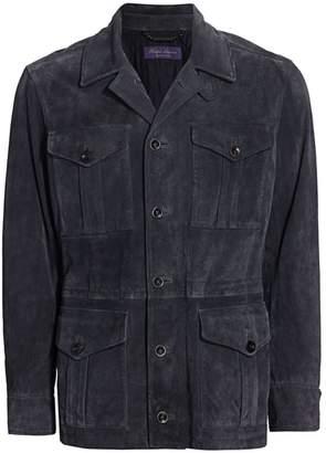 Ralph Lauren Purple Label Merton 4-Pocket Suede Jacket
