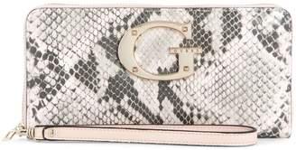 GUESS Camila Python-Print Wallet