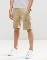 Element Cargo Shorts In Khaki