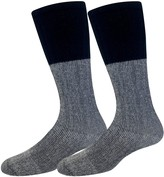 Croft & Barrow Men's Soft Acrylic Thermal With Accent Marl Welt Socks