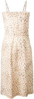 Hache leopard print dress - women - Cotton - 40