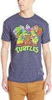 Nickelodeon Teenage Mutant Ninja Turtles Men's TMNT Group T-Shirt