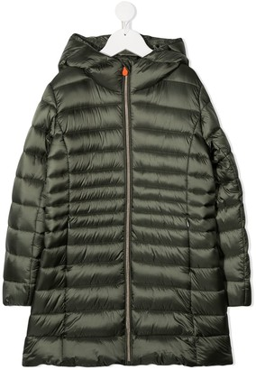 Save The Duck Kids Padded Hooded Coat