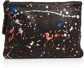 Loeffler Randall Tassel Splatter Paint Pouch